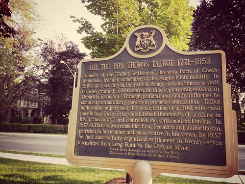 """1817: St. Thomas named after an """"eccentric & authoritarian"""" man, """"patrician in his manner & conservative in his views"""" #sttont"""