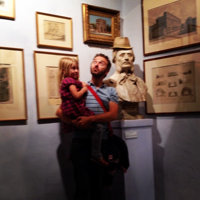 Dag 32. Man leert kind wat niet mag in musea #67daysofsummer