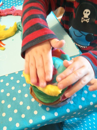 Playdough morning