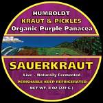 Organic Purple Panacea Sauerkraut