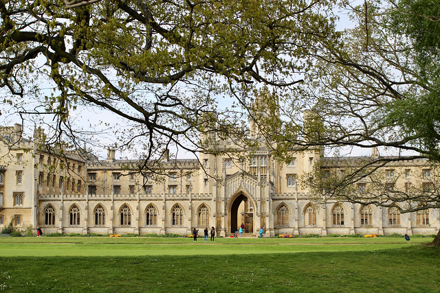 Header of Trinity College, Cambridge