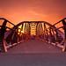 Sam Thompson Bridge, Sydenham, Belfast by x_red5_x