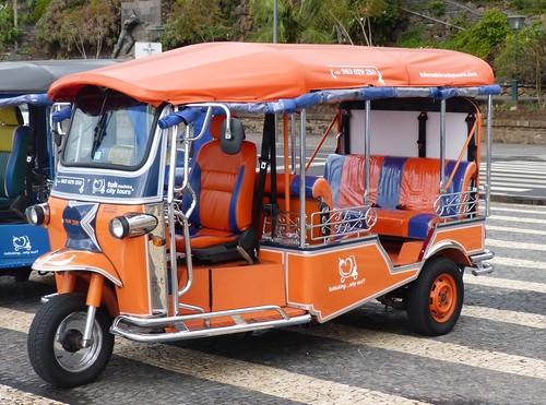 Tuk Tuk's on Madeira 1 on 'Dennis Basford's railsroadsrailways.blogspot.co.uk'