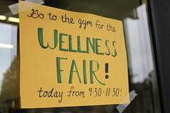 Upper School Wellness Fair