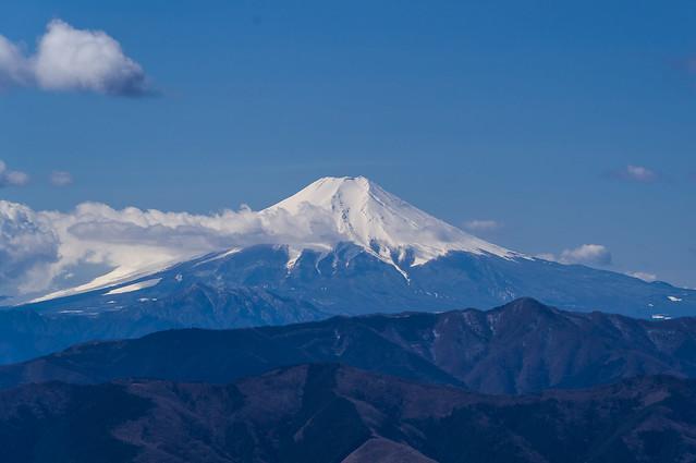 富士山@大岳山頂