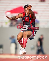 #RoadToState Region IV 6A Track and Field Triple Jamal Anderson #ok3sports #sportsphotography