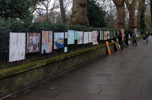 Bayswater Road Sunday Art Exhibition