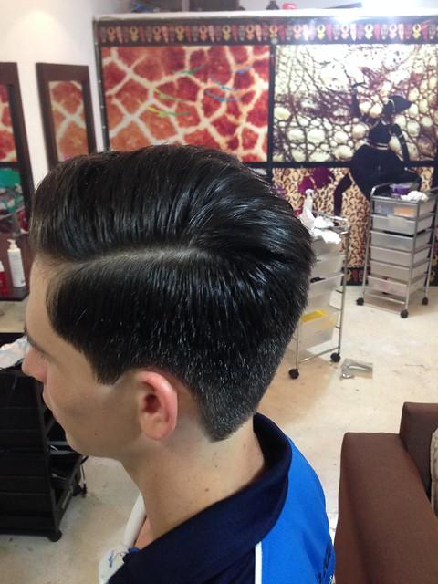 CORTE DE CABALLERO hair, Apple iPhone 5, iPhone 5 back camera 4.12mm f/2.4
