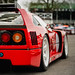 Christopher Wilson - 1993 Ferrari F40LM  at the 2017 Goodwood 75th Members Meeting by Dave Adams Automotive Images