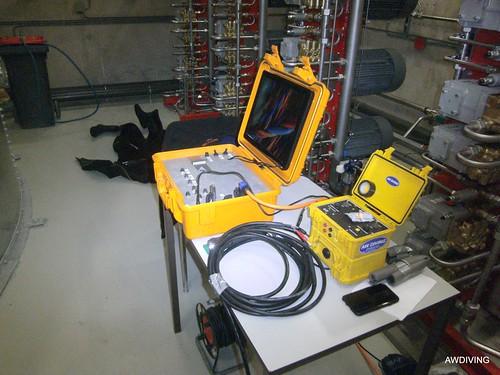 Sprinkler tank inspectie