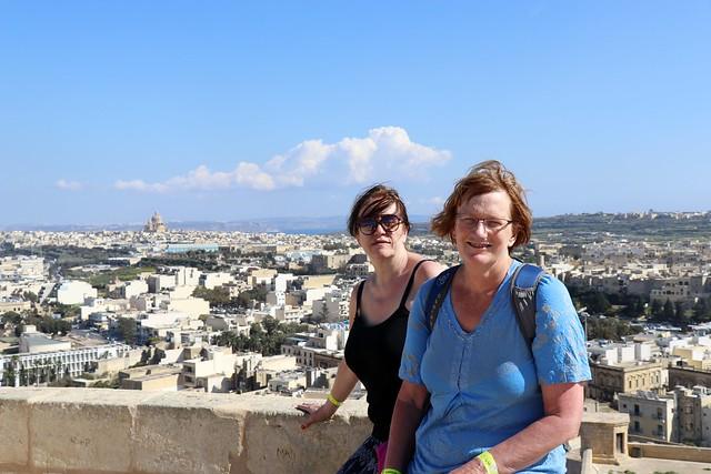 malta gozo citadel grandma and nana