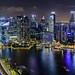 Singapore Skyline by _Hadock_