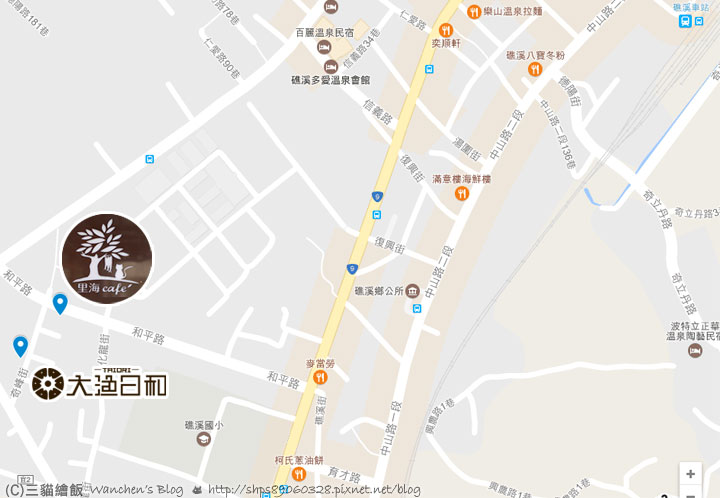 satomi yilan map