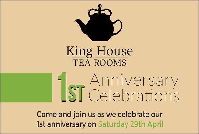 King House Tea Rooms Anniversary