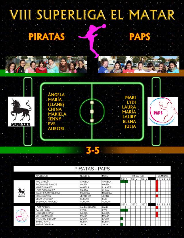 J11. PIRATAS - PAPS