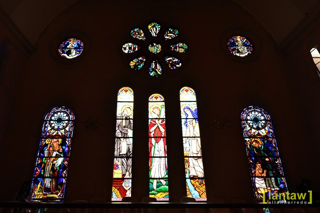 Baguio Cathedral: Stained Glass