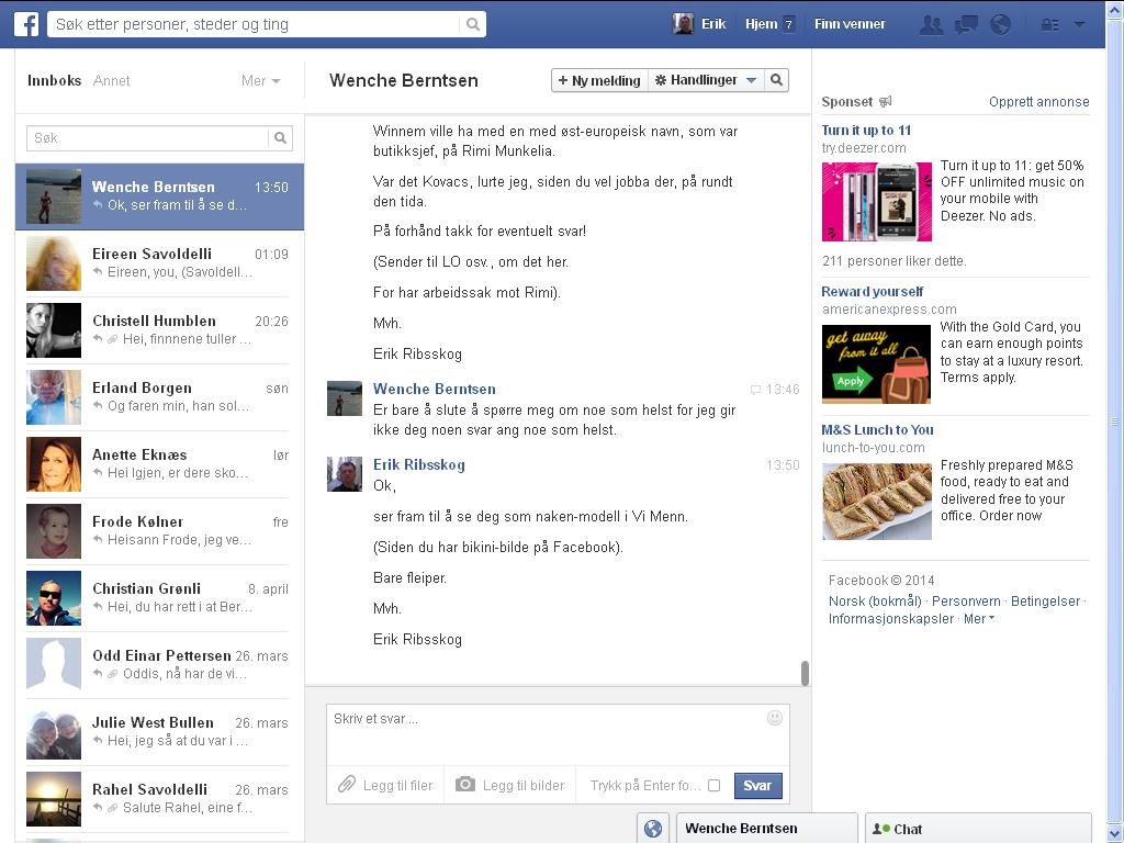 berntsen facebook
