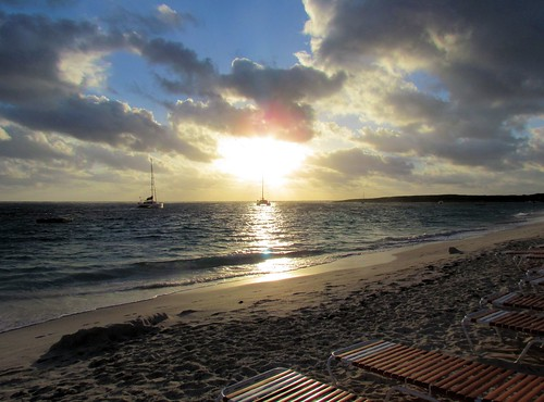 beach sunrise saintmartin stmartin naturist cluborient orientbay fwi