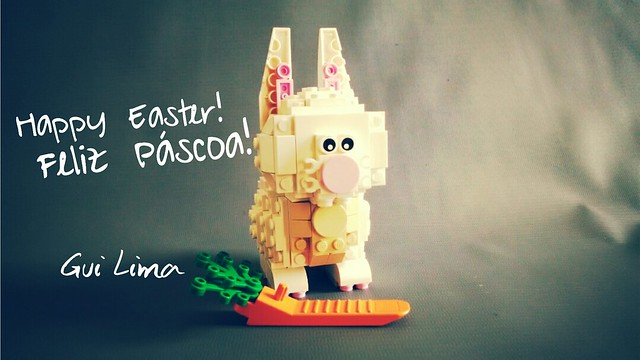 Happy Easter! #lego  Feliz Páscoa!