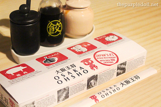 Osaka Ohsho Gyoza Takeout Box SM Megamall Mega Fashion Hall
