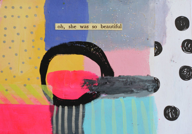 DIY Postcard: Oh she was so beautiful