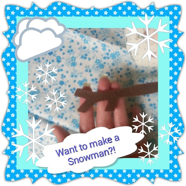 Do you want to make a #Snowman ?  ♡ 'like' if you do!!!! ♡  #doityourself #sewingforkids  #patternmaker #patterndesign #pdfsewingpattern #softie #handmade