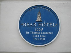 Photo of Thomas Lawrence blue plaque