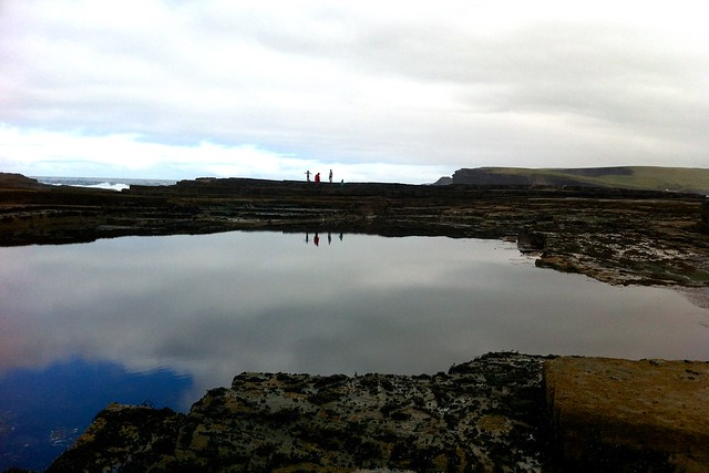 rock pools, kilkee, county clare