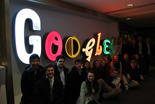 Dean's Business Scholars and Student Leaders Visit Google Headquarters in New York City