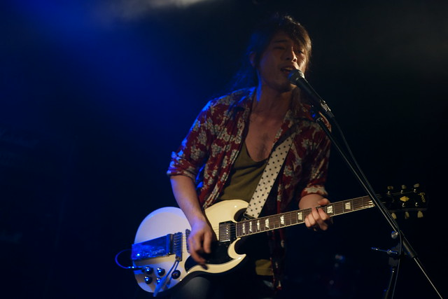 Wire Stripper live at 獅子王, Tokyo, 10 May 2014. 089