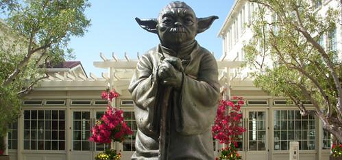 Lucasfilm HQ Yoda Fountain