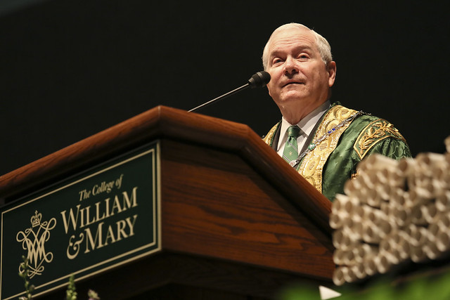 Chancellor Robert M. Gates '65