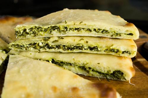 Осетинский пирог с зеленью рецепт с фото
