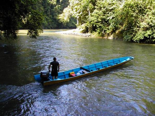 temburong-river-boat