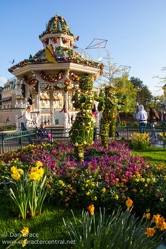 Spring in Town Square