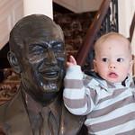 George with Walt Disney