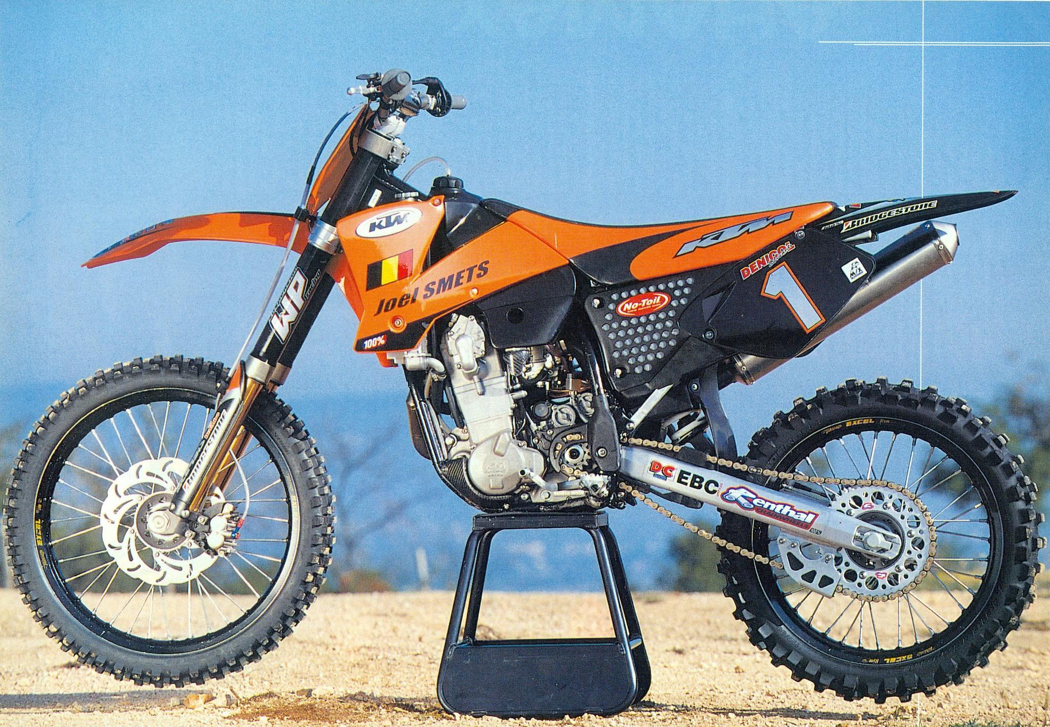 Joel Smets' 2001 works KTM540