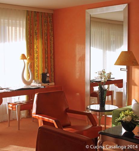EdenRoc Suite Wohnraum