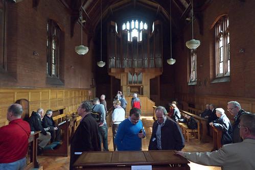 Girton College Cambridge Chapel And Organ