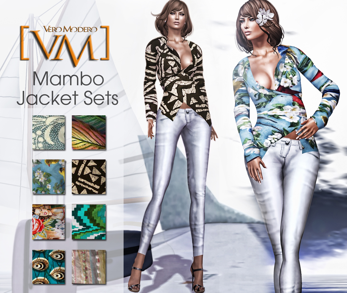 [VM] VERO MODERO  Mambo Jacket Sets All Patterns