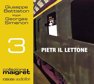 Italy: Pietr-le-Letton: new audiobook publication (Pietr il Lettone) read by Giuseppe Battiston