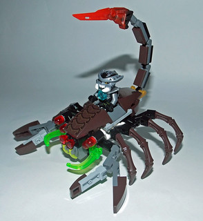 LEGO Chima MOC - Scorpion Legend Beast 1
