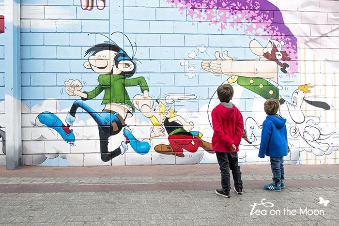 Paris mercado de las pulgas saint ouen graffiti
