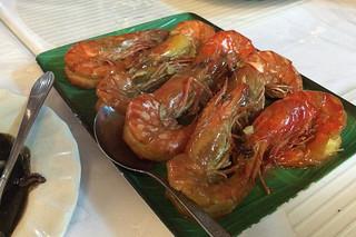 Boracay - Paluto shrimps