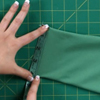 How to Cuff and Hem a Garment with Stretch Ribbing