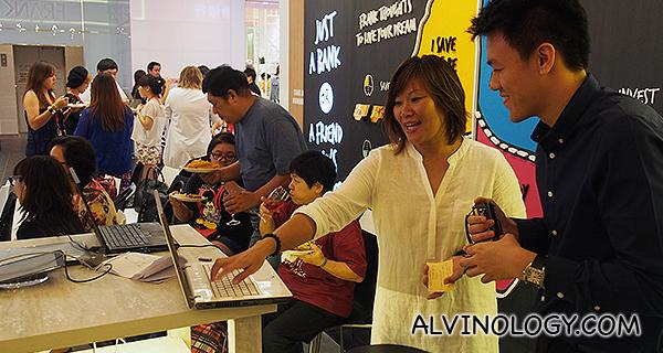 Joanne Soo sharing her experience