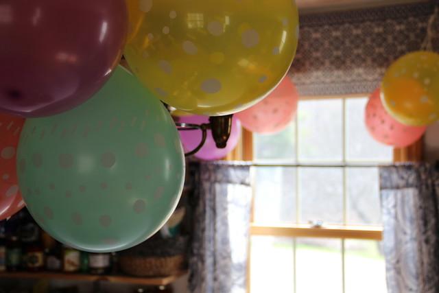15 balloons
