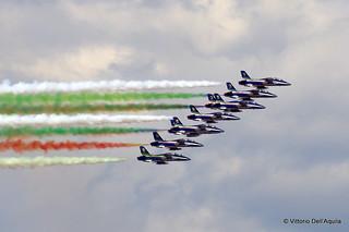 Frecce Tricolori e Giro d'Italia a Trieste