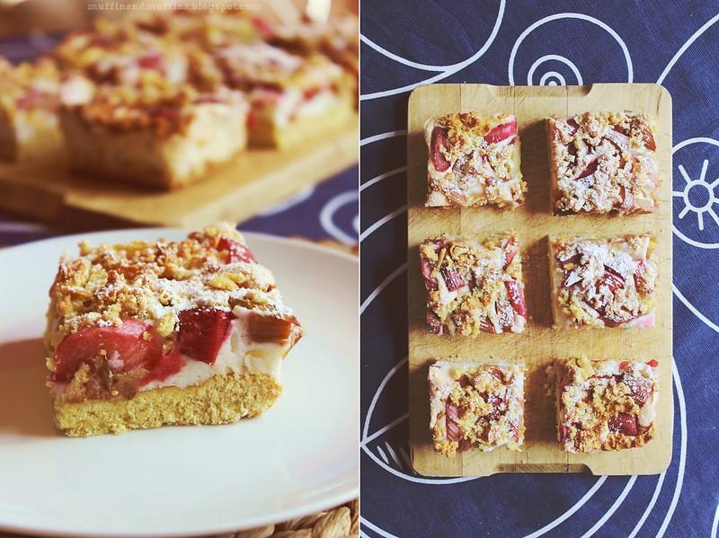 Rhubarb Meringue Shortcake