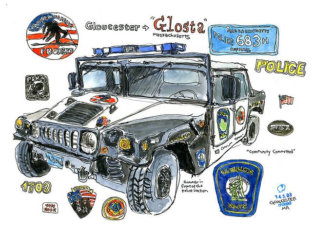 'Glosta' Hummer